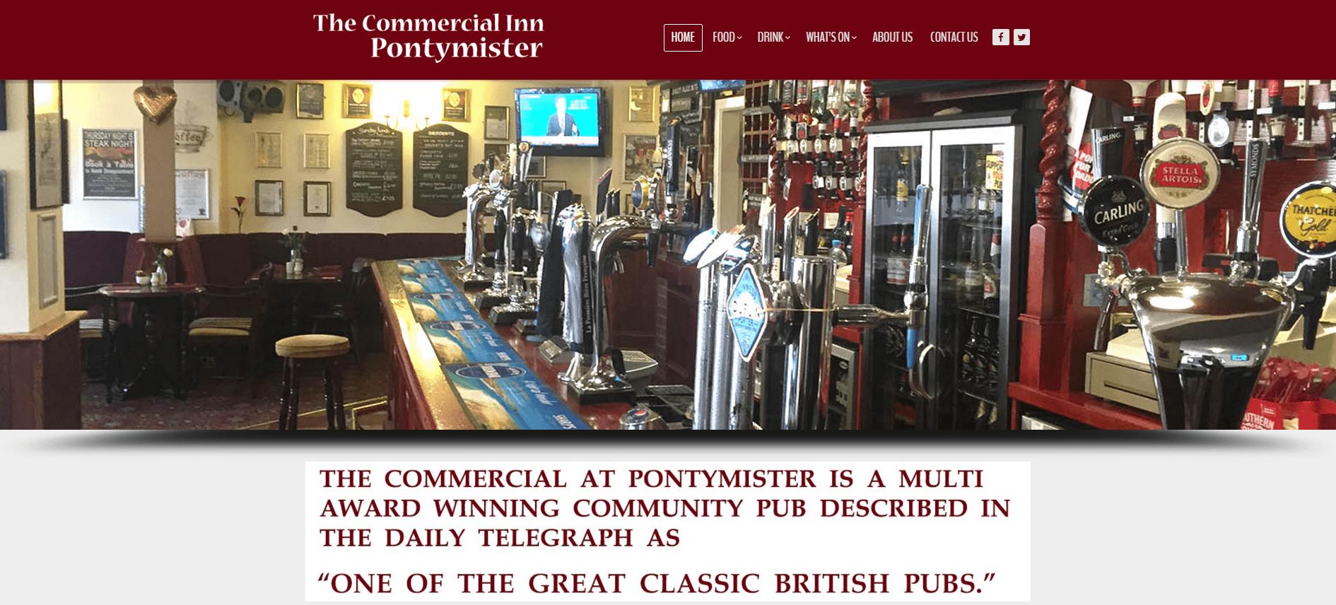 The Commercial Inn – Pontymister