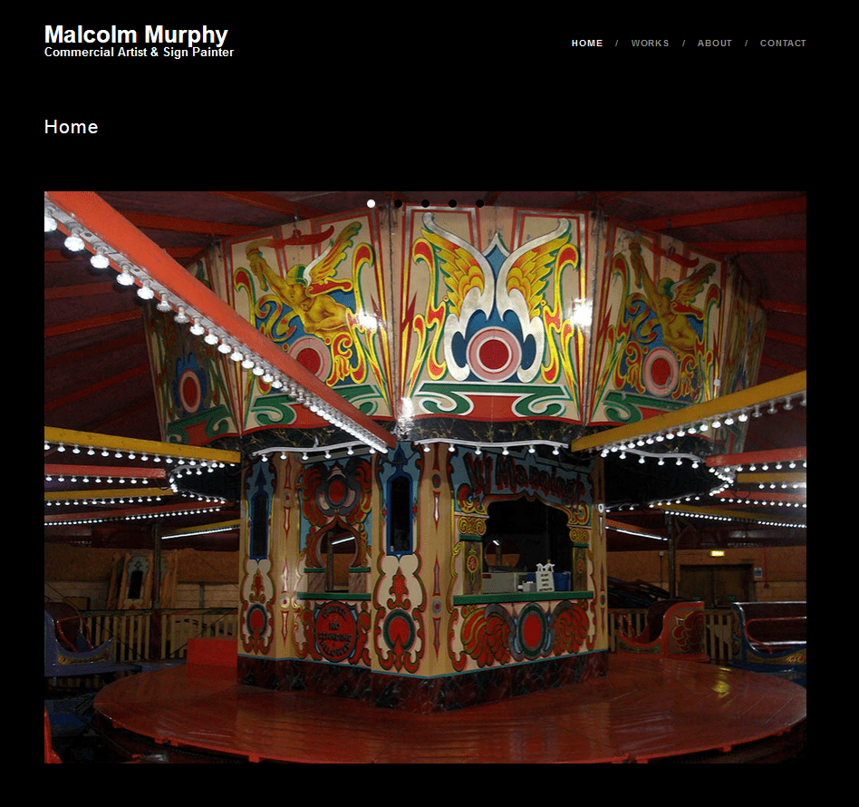 Malcolm Murphy Commercial Artist