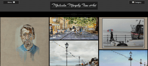 Web Site for Malcolm Murphy Artist