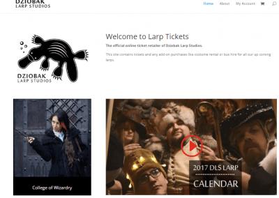 Larptickets – Online Event Ticket Sales