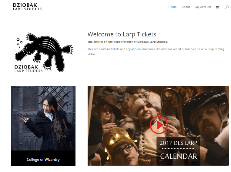 Larptickets – Online Event Ticket Sales