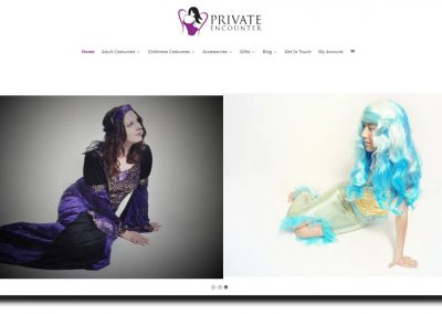 Private Encounters – Online Fancy Dress Sales