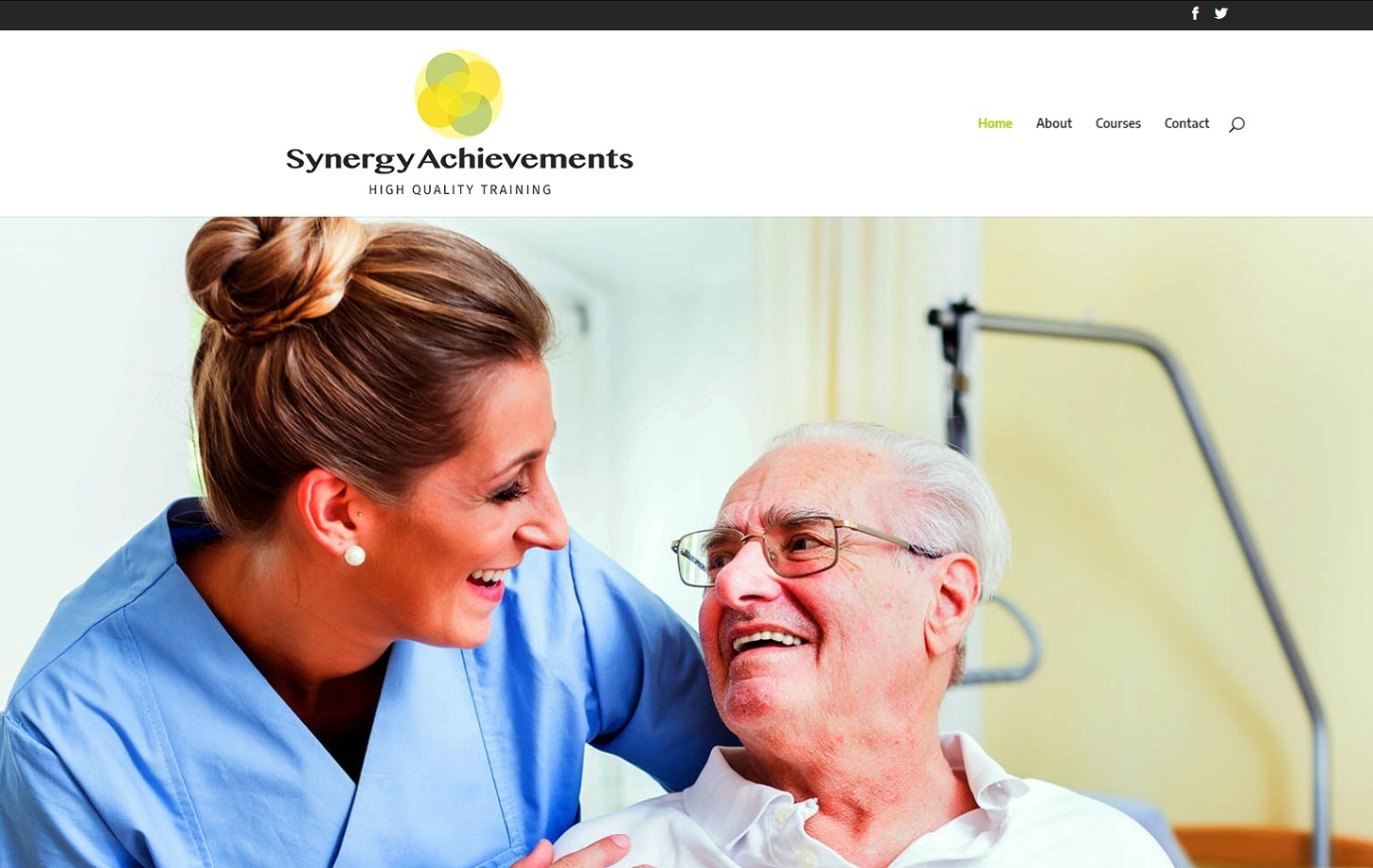 Synergy Achievements – Making a website usable