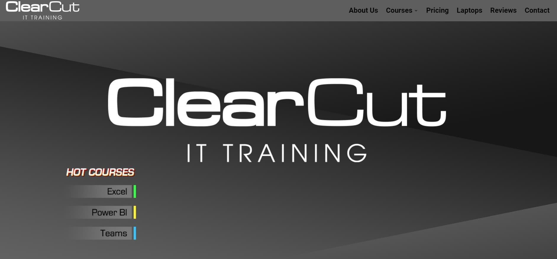 ClearCut IT Website