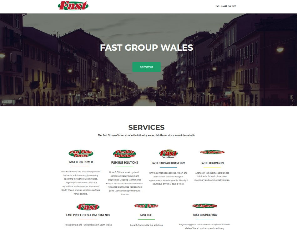 Fast Group Wales